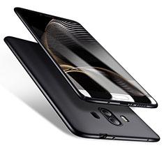 Huawei Mate 10用ハードケース プラスチック 質感もマット M10 ファーウェイ ブラック