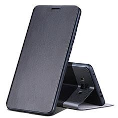 Huawei Mate 10用手帳型 レザーケース スタンド L02 ファーウェイ ブラック