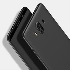 Huawei Mate 10用ハードケース プラスチック 質感もマット M16 ファーウェイ ブラック