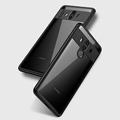 Huawei Mate 10用極薄ソフトケース シリコンケース 耐衝撃 全面保護 クリア透明 T15 ファーウェイ クリア