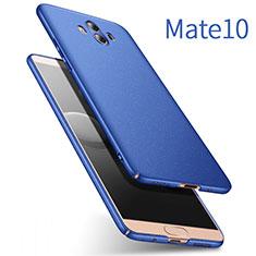 Huawei Mate 10用ハードケース プラスチック 質感もマット ファーウェイ ネイビー