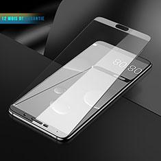 Huawei Mate 10用強化ガラス フル液晶保護フィルム F06 ファーウェイ ホワイト
