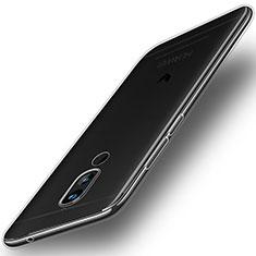 Huawei Mate 10 Lite用極薄ソフトケース シリコンケース 耐衝撃 全面保護 クリア透明 T02 ファーウェイ クリア