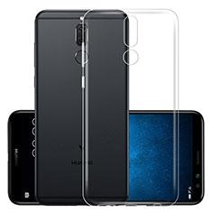 Huawei Mate 10 Lite用極薄ソフトケース シリコンケース 耐衝撃 全面保護 クリア透明 カバー ファーウェイ クリア