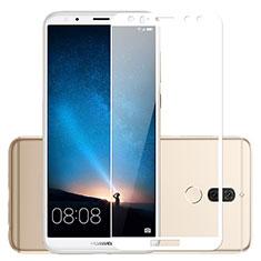 Huawei Mate 10 Lite用強化ガラス フル液晶保護フィルム ファーウェイ ホワイト