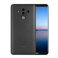 Huawei Mate 10 Pro用極薄ケース クリア透明 プラスチック ファーウェイ ブラック