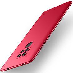 Huawei Mate 20用ハードケース プラスチック 質感もマット M02 ファーウェイ レッド