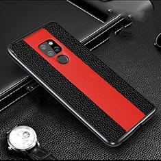 Huawei Mate 20用ケース 高級感 手触り良い アルミメタル 製の金属製 カバー T05 ファーウェイ ブラック