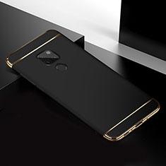 Huawei Mate 20用ケース 高級感 手触り良い メタル兼プラスチック バンパー T02 ファーウェイ ブラック