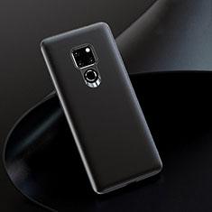 Huawei Mate 20用ケース 高級感 手触り良いレザー柄 R08 ファーウェイ ブラック