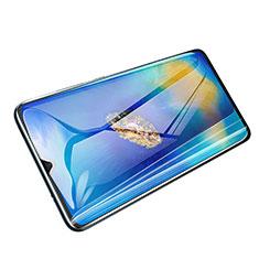 Huawei Mate 20用強化ガラス フル液晶保護フィルム F04 ファーウェイ ブラック