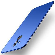 Huawei Mate 20 Lite用ハードケース プラスチック 質感もマット M01 ファーウェイ ネイビー
