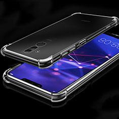 Huawei Mate 20 Lite用極薄ソフトケース シリコンケース 耐衝撃 全面保護 クリア透明 K03 ファーウェイ クリア