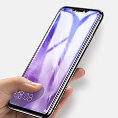 Huawei Mate 20 Lite用強化ガラス フル液晶保護フィルム F03 ファーウェイ ブラック