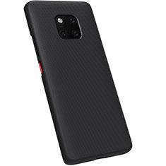 Huawei Mate 20 Pro用ハードケース プラスチック 質感もマット M01 ファーウェイ ブラック