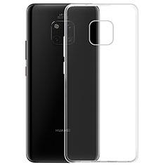 Huawei Mate 20 Pro用極薄ソフトケース シリコンケース 耐衝撃 全面保護 クリア透明 K05 ファーウェイ クリア