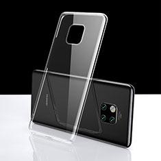 Huawei Mate 20 Pro用極薄ソフトケース シリコンケース 耐衝撃 全面保護 クリア透明 K06 ファーウェイ クリア