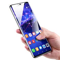 Huawei Mate 20 Pro用強化ガラス フル液晶保護フィルム ファーウェイ ブラック
