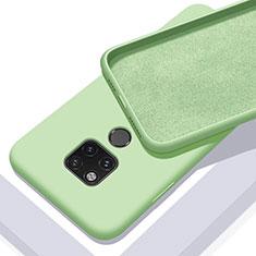 Huawei Mate 20 X 5G用360度 フルカバー極薄ソフトケース シリコンケース 耐衝撃 全面保護 バンパー C03 ファーウェイ グリーン