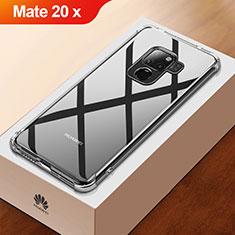 Huawei Mate 20 X 5G用極薄ソフトケース シリコンケース 耐衝撃 全面保護 クリア透明 T03 ファーウェイ クリア