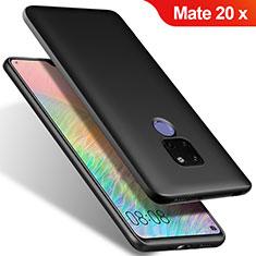 Huawei Mate 20 X 5G用極薄ソフトケース シリコンケース 耐衝撃 全面保護 S02 ファーウェイ ブラック