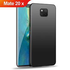 Huawei Mate 20 X用ハードケース プラスチック 質感もマット ファーウェイ ブラック