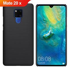 Huawei Mate 20 X用ハードケース プラスチック 質感もマット M01 ファーウェイ ブラック