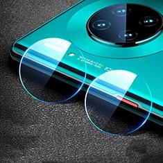 Huawei Mate 30 5G用強化ガラス カメラプロテクター カメラレンズ 保護ガラスフイルム C01 ファーウェイ クリア