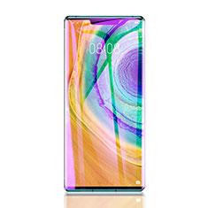 Huawei Mate 30 5G用アンチグレア ブルーライト 強化ガラス 液晶保護フィルム B01 ファーウェイ クリア