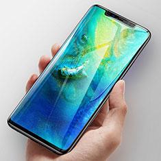 Huawei Mate 30 5G用強化ガラス フル液晶保護フィルム F04 ファーウェイ ブラック
