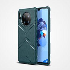 Huawei Mate 30用360度 フルカバー極薄ソフトケース シリコンケース 耐衝撃 全面保護 バンパー S02 ファーウェイ グリーン