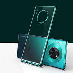 Huawei Mate 30用ハードカバー クリスタル クリア透明 H01 ファーウェイ グリーン