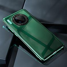 Huawei Mate 30用ハードケース プラスチック 質感もマット カバー P05 ファーウェイ グリーン