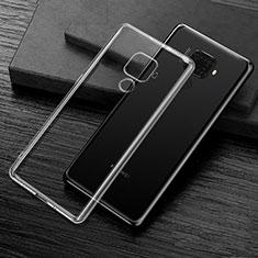 Huawei Mate 30 Lite用極薄ソフトケース シリコンケース 耐衝撃 全面保護 クリア透明 カバー ファーウェイ クリア