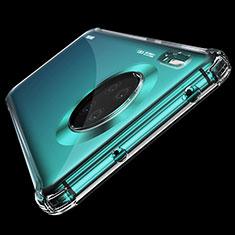 Huawei Mate 30 Pro 5G用極薄ソフトケース シリコンケース 耐衝撃 全面保護 クリア透明 K04 ファーウェイ クリア