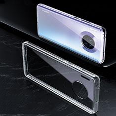 Huawei Mate 30 Pro 5G用極薄ソフトケース シリコンケース 耐衝撃 全面保護 クリア透明 K01 ファーウェイ クリア