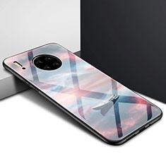 Huawei Mate 30 Pro用ハイブリットバンパーケース プラスチック 鏡面 カバー ファーウェイ マルチカラー