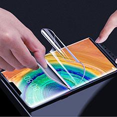 Huawei Mate 30 Pro用高光沢 液晶保護フィルム フルカバレッジ画面 ファーウェイ クリア