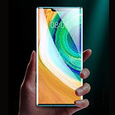 Huawei Mate 30E Pro 5G用強化ガラス フル液晶保護フィルム F03 ファーウェイ ブラック