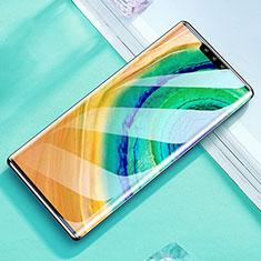 Huawei Mate 30E Pro 5G用強化ガラス フル液晶保護フィルム F04 ファーウェイ ブラック
