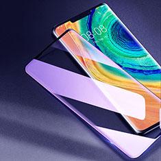 Huawei Mate 30E Pro 5G用強化ガラス フル液晶保護フィルム アンチグレア ブルーライト F02 ファーウェイ ブラック