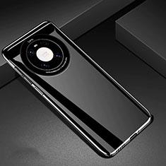 Huawei Mate 40用ハードケース プラスチック 質感もマット カバー P01 ファーウェイ ブラック