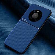 Huawei Mate 40用360度 フルカバー極薄ソフトケース シリコンケース 耐衝撃 全面保護 バンパー C01 ファーウェイ ネイビー