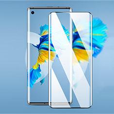 Huawei Mate 40用強化ガラス フル液晶保護フィルム F03 ファーウェイ ブラック