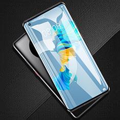 Huawei Mate 40用強化ガラス フル液晶保護フィルム F02 ファーウェイ ブラック