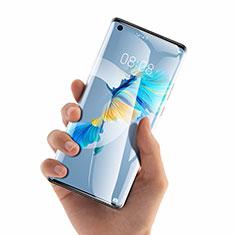 Huawei Mate 40用強化ガラス 液晶保護フィルム T02 ファーウェイ クリア