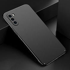 Huawei Mate 40 Lite 5G用ハードケース プラスチック 質感もマット カバー M03 ファーウェイ ブラック