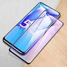 Huawei Mate 40 Lite 5G用強化ガラス フル液晶保護フィルム アンチグレア ブルーライト ファーウェイ ブラック