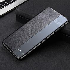 Huawei Mate 40 Pro用手帳型 レザーケース スタンド カバー K09 ファーウェイ ブラック