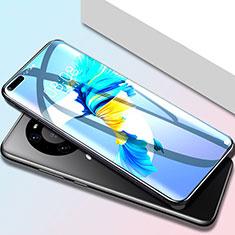 Huawei Mate 40 Pro用高光沢 液晶保護フィルム フルカバレッジ画面 F01 ファーウェイ クリア